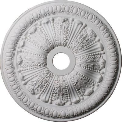 2-1/2 in. x 27-7/8 in. Polyurethane Tomango Egg and Dart Ceiling Medallion