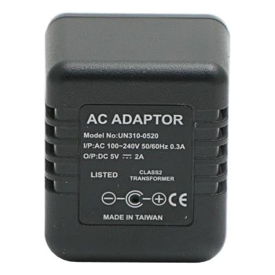 Lawmate Brand AC Adapter with Hidden Spy DVR Camera and Time/Date Stamp