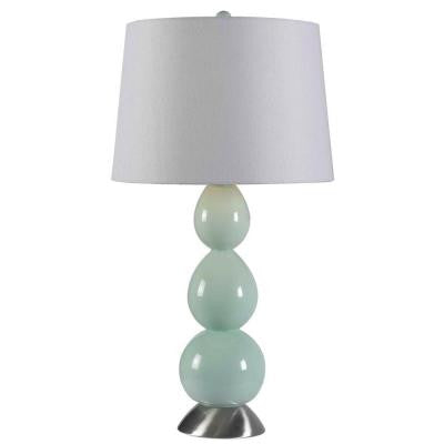 Walla 28 in. Green Table Lamp
