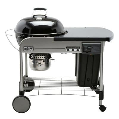 Performer Deluxe 22 in. Charcoal Grill in Black