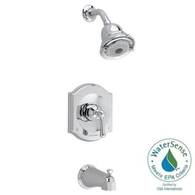 Portsmouth 1-Handle Tub and Shower Faucet Trim Kit in Polished Chrome (Valve Sold Separately)