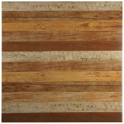 Ontario Natural 17-3/4 in. x 17-3/4 in. Ceramic Wall and Floor Tile (21.85 sq. ft. / case)