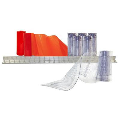 4 ft. x 7 ft. PVC Strip Door Kit