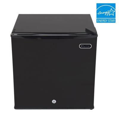 1.1 cu. ft. Upright Freezer in Black with Lock, ENERGY STAR