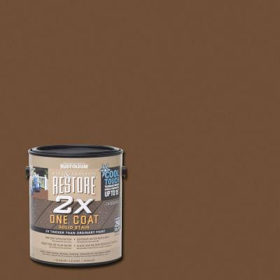 1 gal. 2X Chocolate Cool Touch Deck Stain