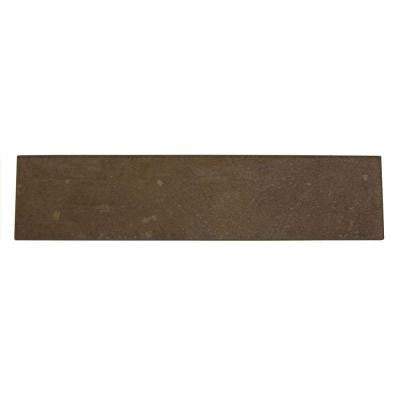 Terra Antica Oro 3 in. x 12 in. Porcelain Surface Bullnose Accent Floor and Wall Tile