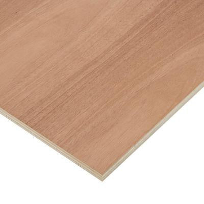 3/4 in. x 2 ft. x 4 ft. PureBond Mahogany Plywood Project Panel