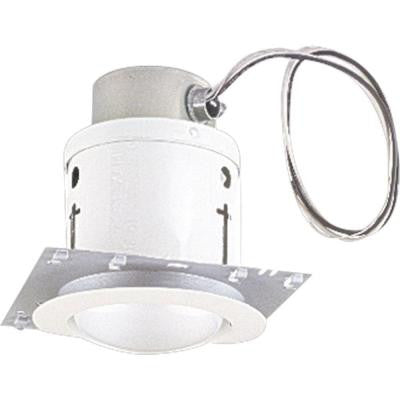 4 in. White Recessed Lighting Housing and Trim
