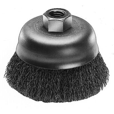 3 in. Carbon Steel Wire Cup Brush