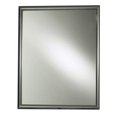 Harmony 24 in. W x 30 in. H x 5.875 in. D Recessed Mirrored Medicine Cabinet in Chrome