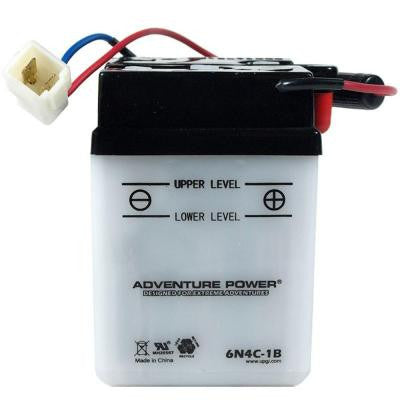Conventional Wet Pack 6-Volt 5.5 Ah Capacity M Terminal Battery