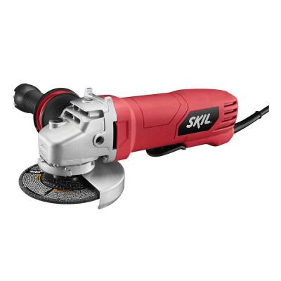 7.5 Amp 4-1/2 in. Corded Paddle Switch Angle Grinder