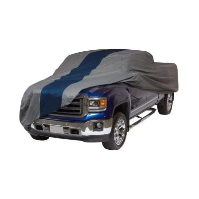 Double Defender Standard Cab Short Bed Semi-Custom Pickup Truck Cover Fits up to 18 ft. 1 in.