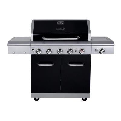 Deluxe 5-Burner Gas Grill with Side Burner and Searing Zone