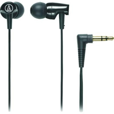 Clear In-Ear Headphones - Black