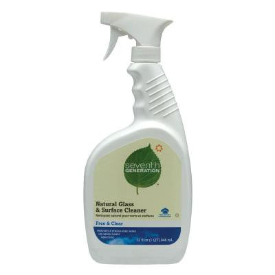 32 oz. Free and Clear Natural Glass and Surface Cleaner
