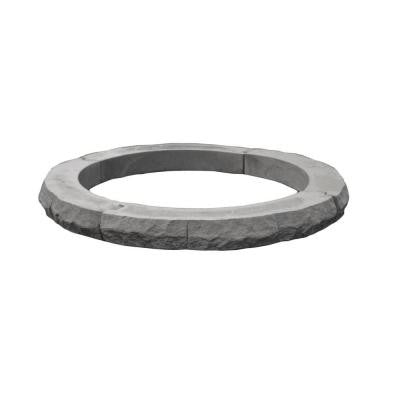 Ledgestone 42 in. Fire Pit Additional Layer Kit Gray