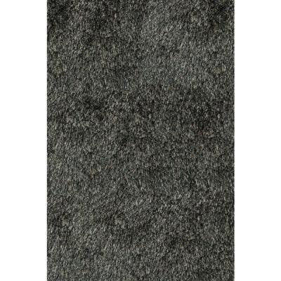Luster Shag Carbon 5 ft. x 7 ft. Indoor Area Rug