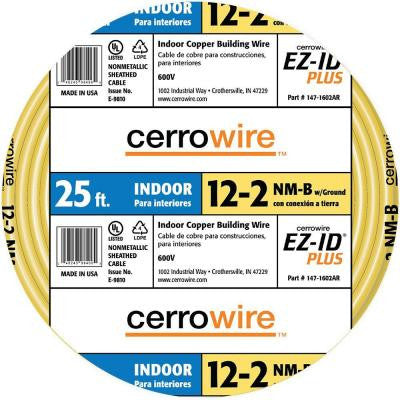 25 ft. 12/2 NM-B Wire