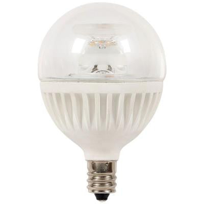 60W Equivalent Soft White G16.5 Dimmable LED Light Bulb