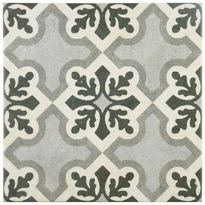 Vintage Ruzafa 9-1/2 in. x 9-1/2 in. Porcelain Floor and Wall Tile (10.76 sq. ft. / case)