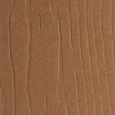 Vantage 1 in. x 5-3/8 in. x 1/4 ft. Rustic Cedar Composite Decking Board Sample