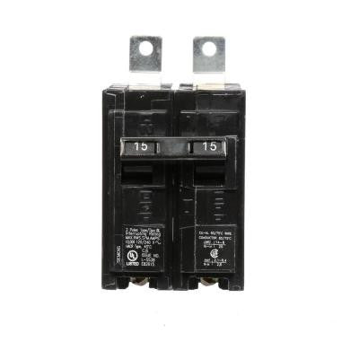 15 Amp Double-Pole Type BL 10 kA Bolt-On Circuit Breaker