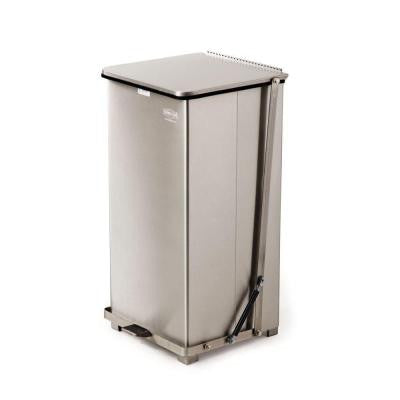 Defenders 24 Gal. Stainless Steel Step-On Medical Trash Can