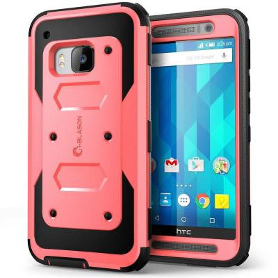 Armorbox Full Body Protective Case for HTC One M9- Pink