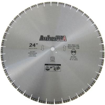 24 in. Diamond Blade for Concrete Cutting