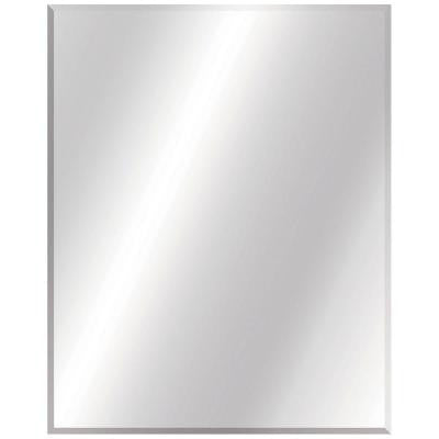 24 in. W x 30 in. L Beveled Edge Bath Mirror