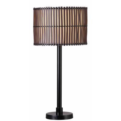 Bora 29 in. Bronze Outdoor Table Lamp