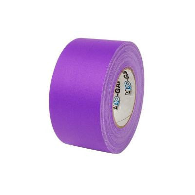 3 in. x 55 yds. Purple Gaffer Industrial Vinyl Cloth Tape (3-Pack)