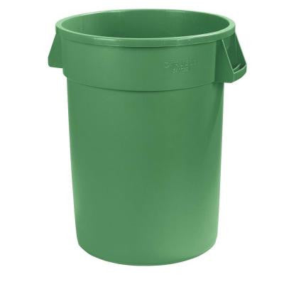 Bronco 32 Gal. Green Round Trash Can