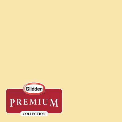1-gal. #HDGY31D Chic Yellow Eggshell Latex Interior Paint with Primer