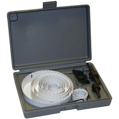 19-Piece Hole Saw Set with Case
