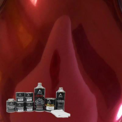 MirraChrome 1 qt. Apple Red Chrome Paint Kit