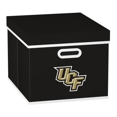 College STACKITS University of Central Florida 12 in. x 10 in. x 15 in. Stackable Black Fabric Storage Cube