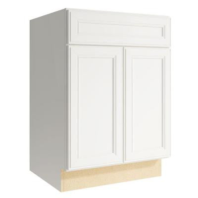 Boden 24 in. W x 34 in. H Vanity Cabinet Only in Lace