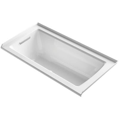 Archer 5 ft. Walk-In Whirlpool and Air Bath Tub in White
