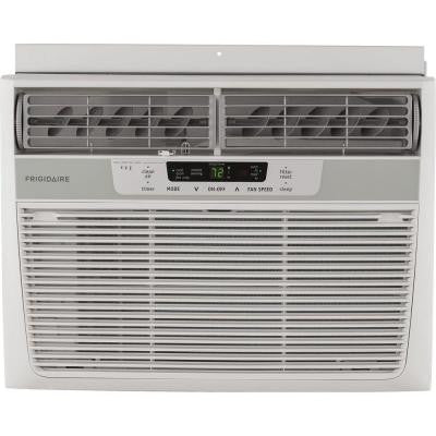 10,000 BTU 115-Volt Window-Mounted Compact Air Conditioner with Temperature Sensing Remote Control