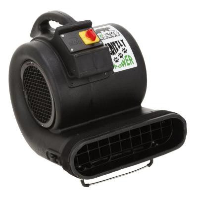 High-Velocity 3-Speed 3550 CFM Air Mover-Carpet Dryer-Floor Dryer