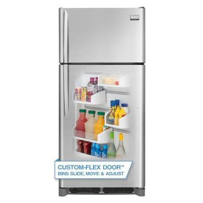 Gallery 18.1 cu. ft. Top Freezer Refrigerator in Smudge Proof Stainless Steel, ENERGY STAR