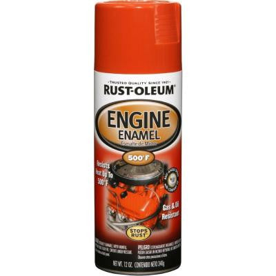 12 oz. 500° Chrysler Hemi Orange Engine Enamel Spray Paint (Case of 6)