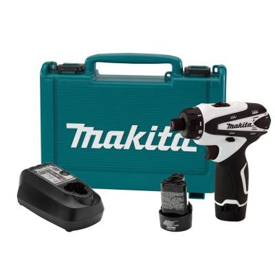 12-Volt Max Lithium-Ion 1/4 in. Cordless Hex Driver-Drill Kit