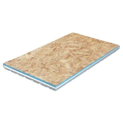 2.09 in. x 2 ft. x 4 ft. OSB Insulated R7 Subfloor Panel