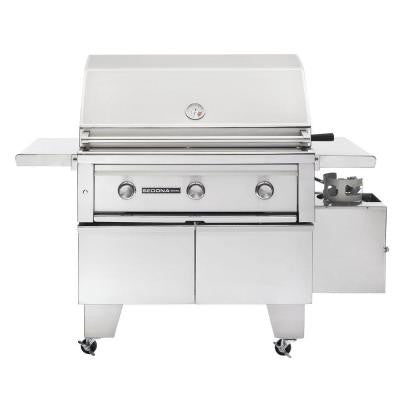 3-Burner ADA-Compliant Stainless Steel Propane Gas Grill