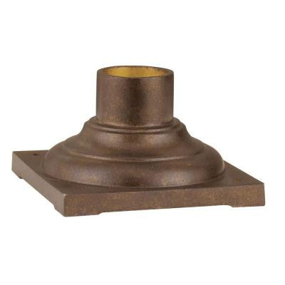 Providence Moroccan Gold Outdoor Pier Mount Adaptor