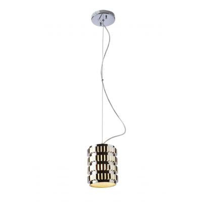 1-Light Chrome Axis Mini Pendant