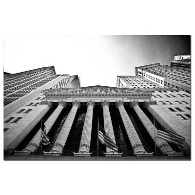 14 in. x 19 in. New York Stock Exchange Canvas Art